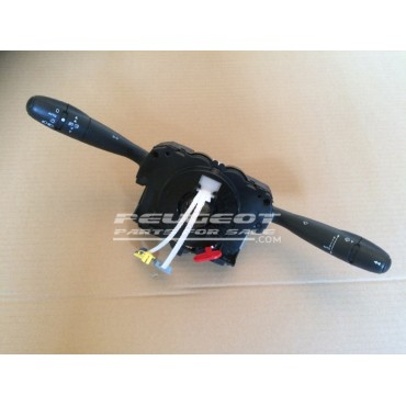 Peugeot 307 Citroen Com 2005 Unit, Light Wiper Indicator Stalk Column Switch, Reconditioned Unit, Part No. 6242ZP