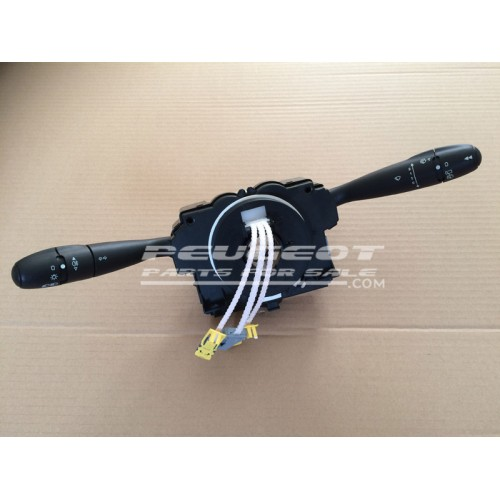 genuine peugeot 307 citroen comm 2000 light wiper indicator stalk top steering column switch. Black Bedroom Furniture Sets. Home Design Ideas